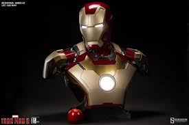 Iron Man 3: Mark 42 1:1 Marvel Life Size Bust