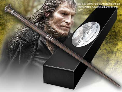 Cinema replicas fenrir greyback 39 s wand for Harry potter elm wand