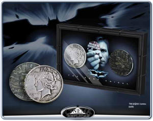 Harvey Dent & Two-Face Coins