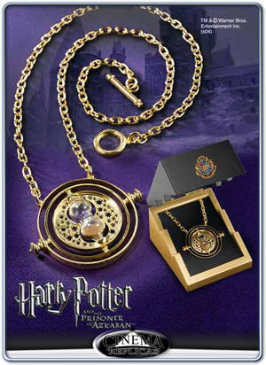 Time-Turner™ Sterling Silver gold plated