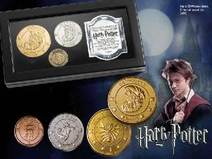 The Gringotts bank coin collection