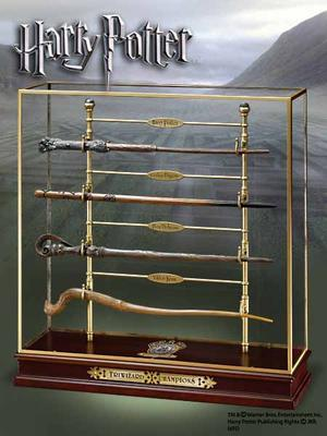 Triwizard champions wand set med 4 stavar!
