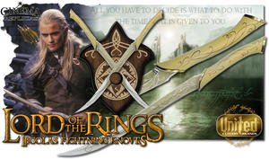 Fighting Knives of Legolas LOTR