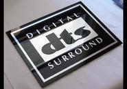 DTS  Acrylic sign
