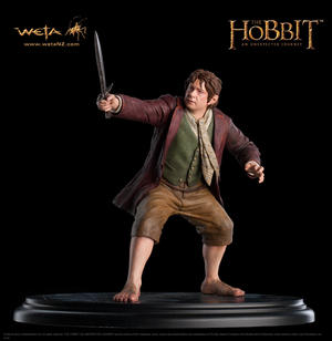 The Hobbit: Bilbo Baggins 1/6 statue