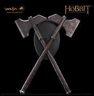 The Hobbit: Dwalin's Axes prop replica