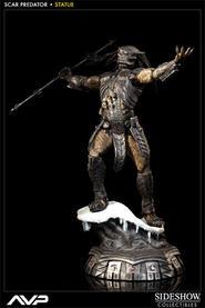 Alien VS Predator: Scar Predator Statue 1:5