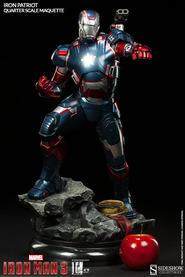 Iron Man 3: Iron Patriot Quarter Scale Maquette