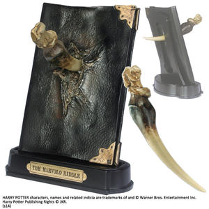 Basilisk Fang and Tom Riddle Diary