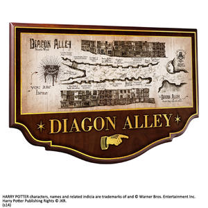 Harry Potter: Diagon Alley Wall Plaque
