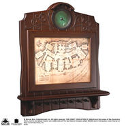 The Hobbit: Bag-end Map Plaque Key Holder