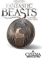 Fantastic Beast's Macusa Crest Wall Art
