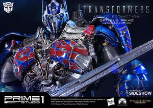 Optimus Prime Polystone Statue