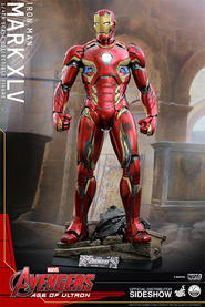 Iron Man Mark XLV Quarter Scale Figure