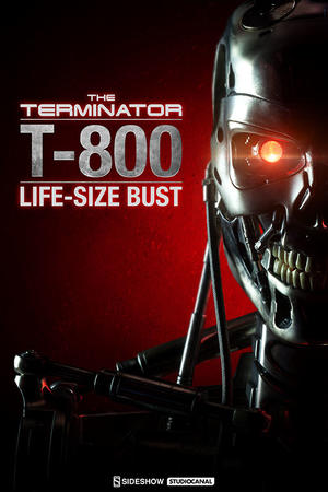 Terminator Life Sized Bust