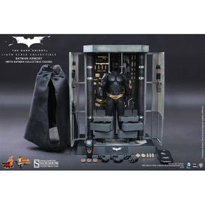 The Dark Knight: Batman Armory with Batman 1:6 scale figure set