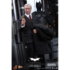 The Dark Knight: Batman Armory with Bruce Wayne & Alfred 1:6 scale figure set