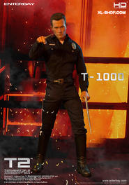 Terminator 2: Judgment Day - T1000 1:4 scale figure
