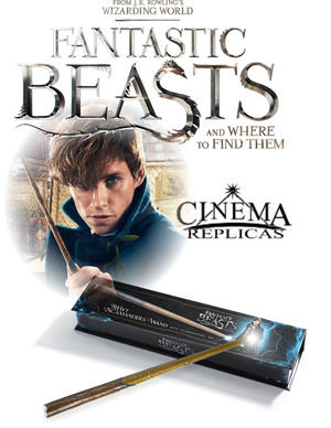 Newt Scamander's Wand Illuminating  version