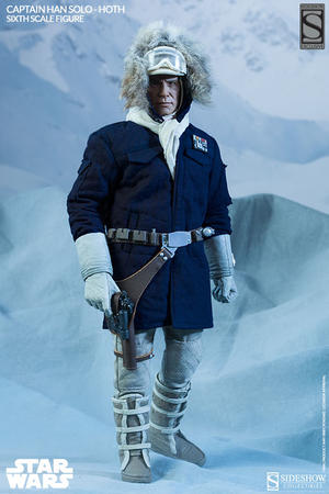 Star Wars: Captain Han Solo in Hoth Gear Sixth Scale Figure