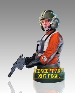 Star Wars: Wedge Antilles Mini Bust