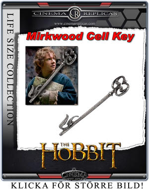 Mirkwood Cell Key - Prop Replica