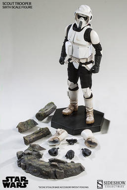 Scout Trooper Sixth Scale Figure