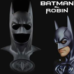 Lifesize Batman & Robin Black Cowl