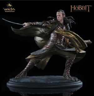 Lord Elrond at Dol Guldur 1/6 scale Statue