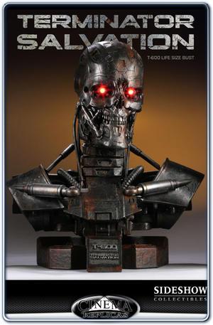Terminator Salvation T-600 Life-Size Bust 1:1