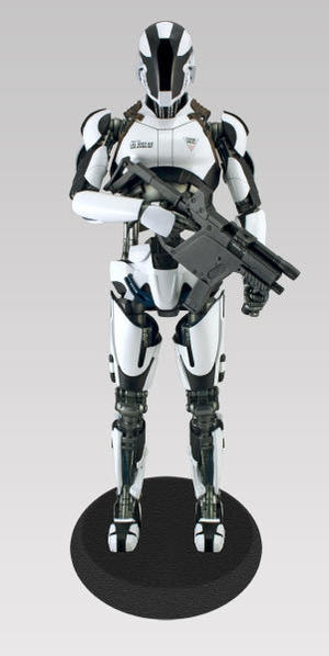 Total Recall: Lifesize Synth. Black and White Armored Regular