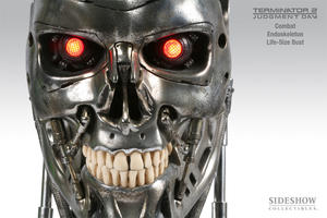 Endoskeleton Life-Size Bust Combat Version