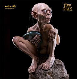 FULL SIZE Gollum statue