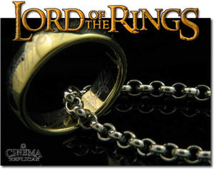 The One ring inkl. kedja Deluxe Version med display.