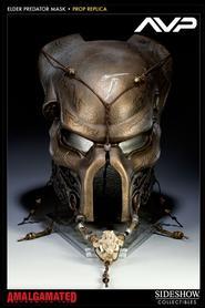 Elder Predator Ceremonial Mask Life-size Prop Replica