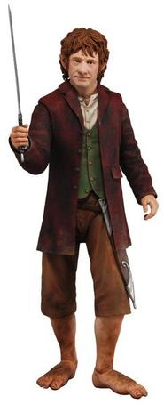 "The Hobbit: Bilbo Baggins 1:4 Scale 18"" Figure"