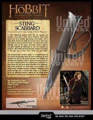 The Hobbit  STING Scabbard ENDAST (Svärdfodral)