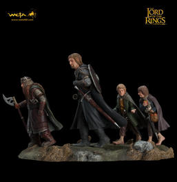 Fellowship of the Ring Diorama Set 2