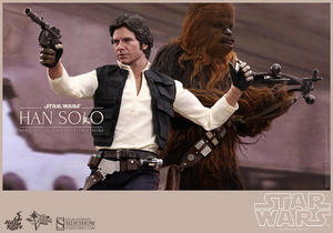 Star Wars: Han Solo and Chewbacca Sixth Scale Figure Set