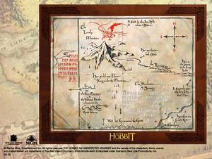 Map of THORIN OAKENSHIELD
