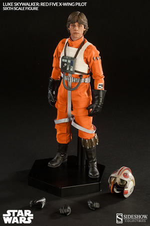 Luke Skywalker Red Five X-Wing pilot Sixth Scale Figure