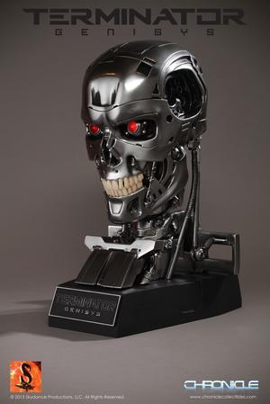 Endoskeleton Terminator Genisys: Skull 1:1 scale