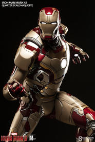 Marvel Iron Man: 1/4 Scale Mark 42 Maquette