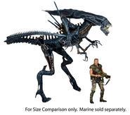 Aliens: Xenomorph Queen Ultra Deluxe Boxed AF