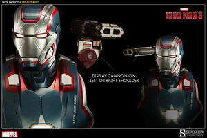 Iron Man 3: Iron Patriot Life-Size Bust