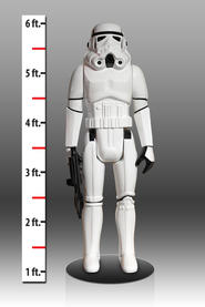 Stormtrooper Life Size Vintage Monument