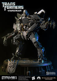 Transformers: Starscream Polystone Statue
