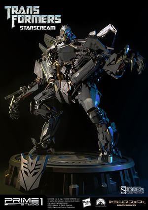 Transformers: Starscream Polystone Statue