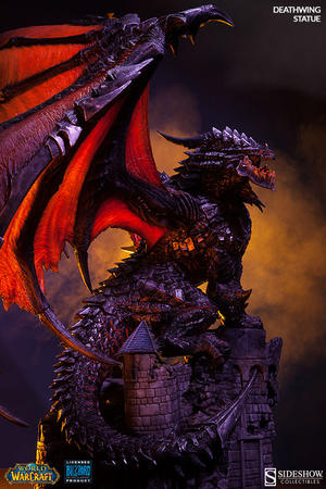 World of Warcraft: Deathwing Statue